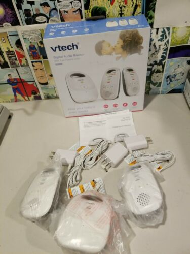 5-Level Sound VTech DM112 Audio Baby Monitor with up to 1,000 ft of Range