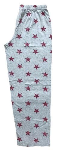 LADIES PYJAMA BOTTOMS EX UK STORE GREY STAR UK 8-26 SUMMER LIGHT PJ LOUNGE PANTS