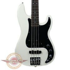 Brand New Fender Deluxe Active Precision Bass P Bass Special Olympic White Demo