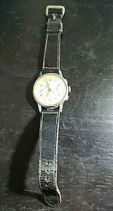 Vintage-AntiMagnetic-17-Rubis-Chronograph-Suisse-Olor-Swiss-Made-Watch-1505