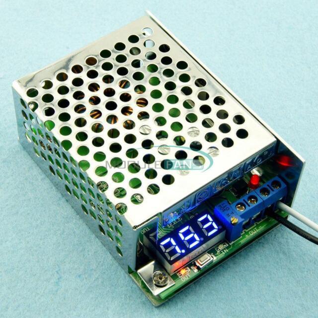 3.5-30V to 0.8-29V 5V 12V 10A DC-DC Step Down Power Supply Converter + LED Volt