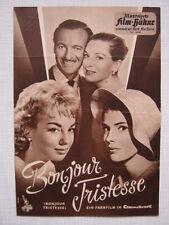Filmprogramm IFB 4446 Bonjour Tristesse  Jean Seberg, David Niven, Deborah Kerr