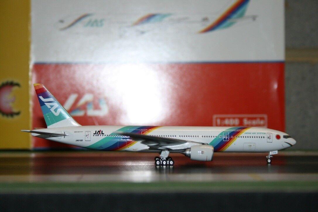 Phoenix 1:400 JAS Japan Air System Boeing 777-200 JA010D  PH4JAS304  Model Plane