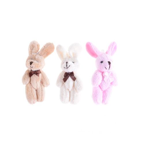 Wedding Gift Joint Rabbit Bouquet DIY Pendant Plush Stuffed TOY Plush Animal Z0H