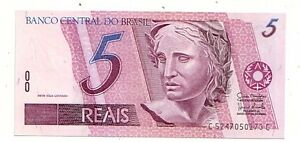 Brasile-5-reais-1997-2011-FDS-UNC-Pick-244A-i-Lotto-3562