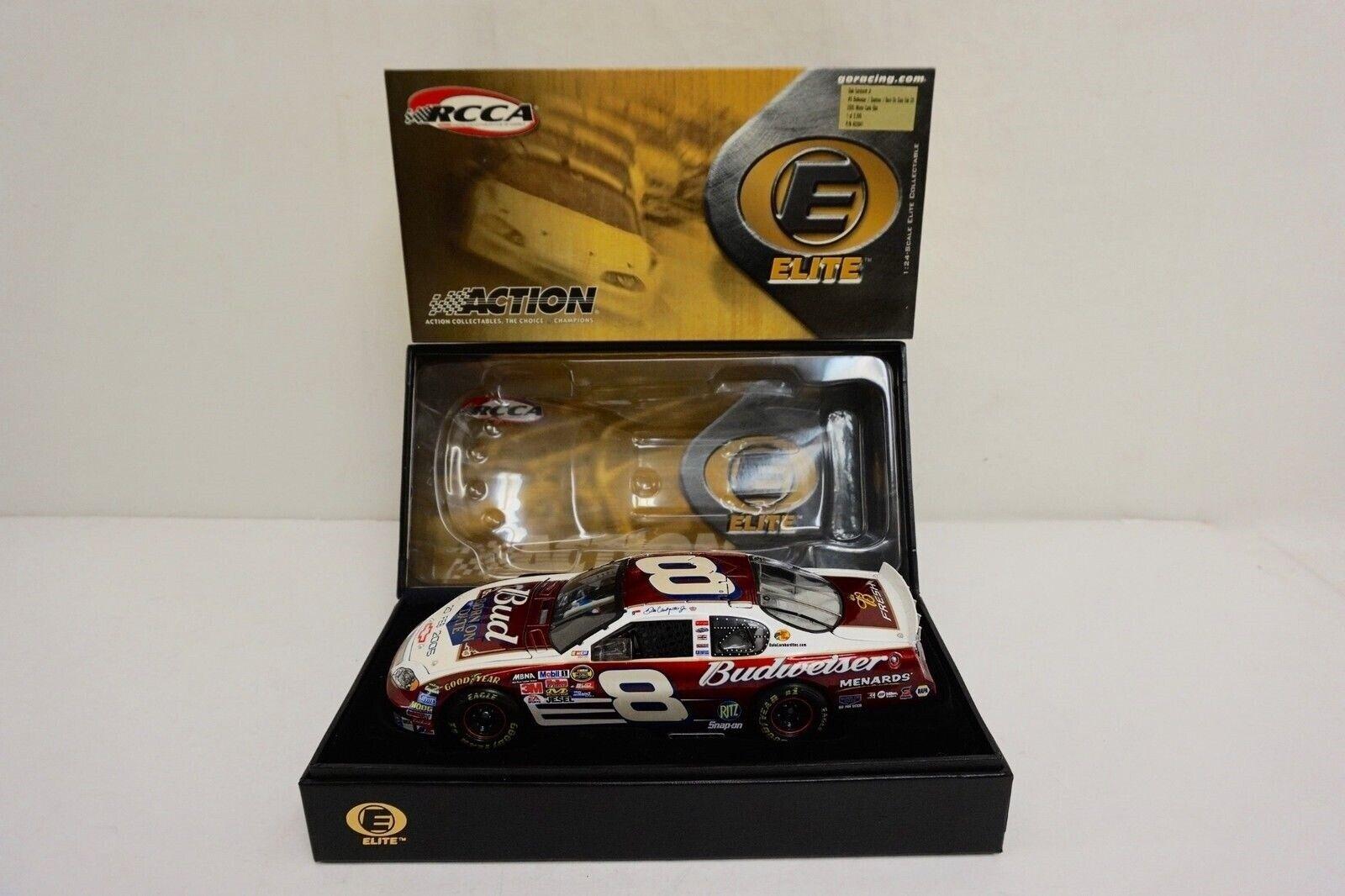 Racing  Collectables Club of America Elite moulé sous pression  2005 Dale Earnhardt Jr  8  né le date  Daytona 500 -  0831  prix bas 40%