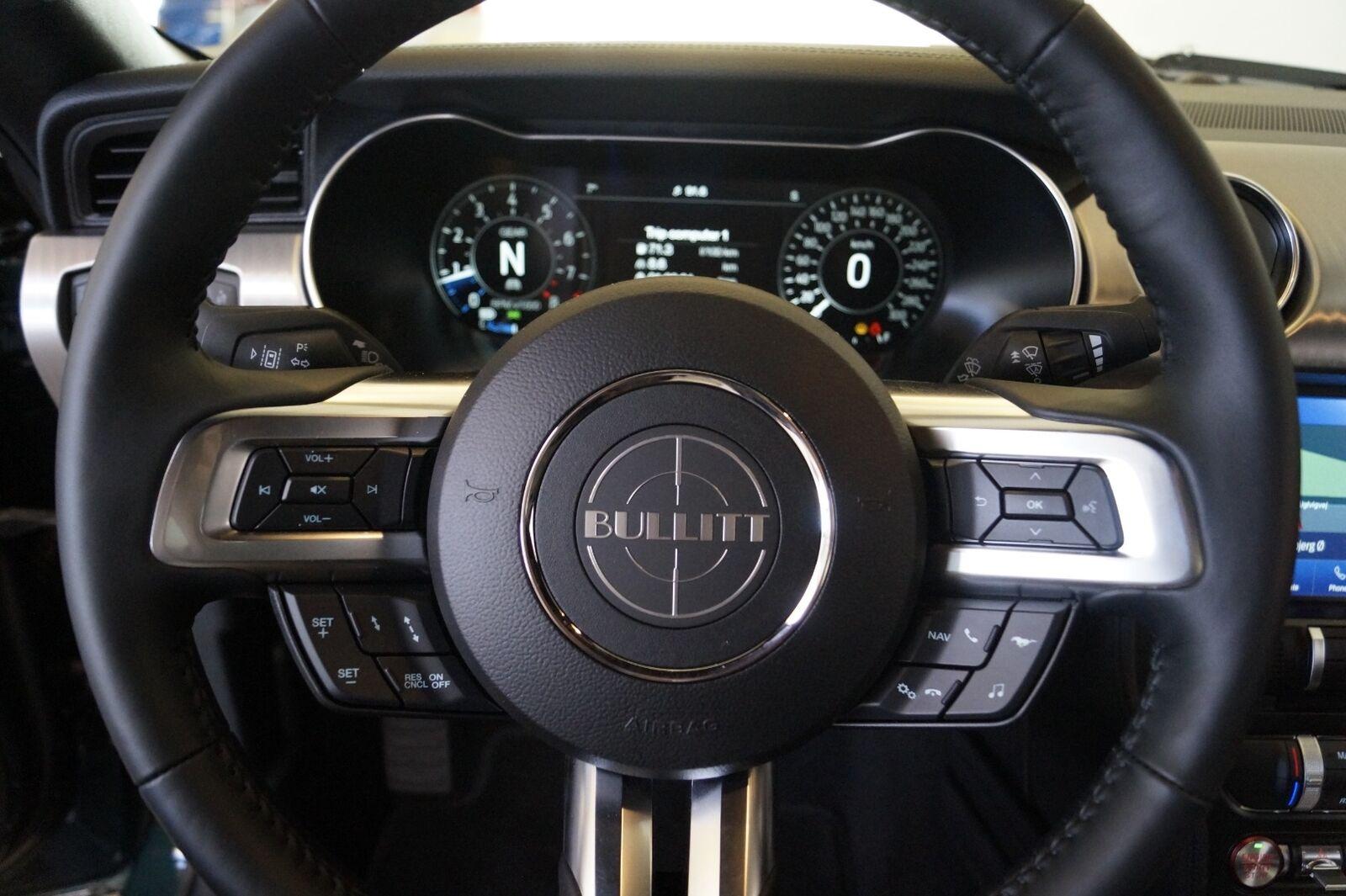 Ford Mustang 5,0 V8 GT Fastback Bullitt - billede 16