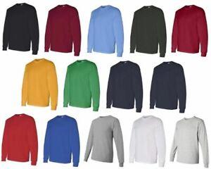 Gildan-5400-Heavy-Cotton-Classic-Fit-Adult-Long-Sleeve-TShirt-XL-GRAPHITE-GRAY