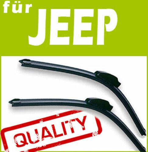 2 Scheibenwischer Wischerblätter FLEX für Jeep Cherokee 2014+