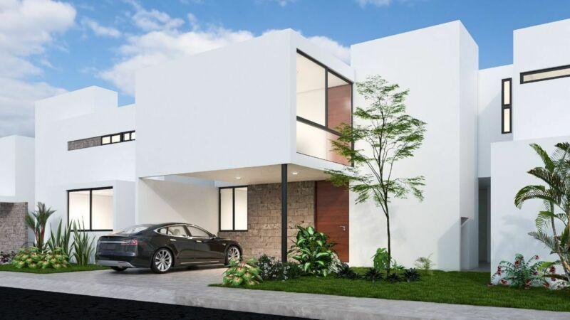 Pre venta de casa  Otavia en Conkal, Yucatan