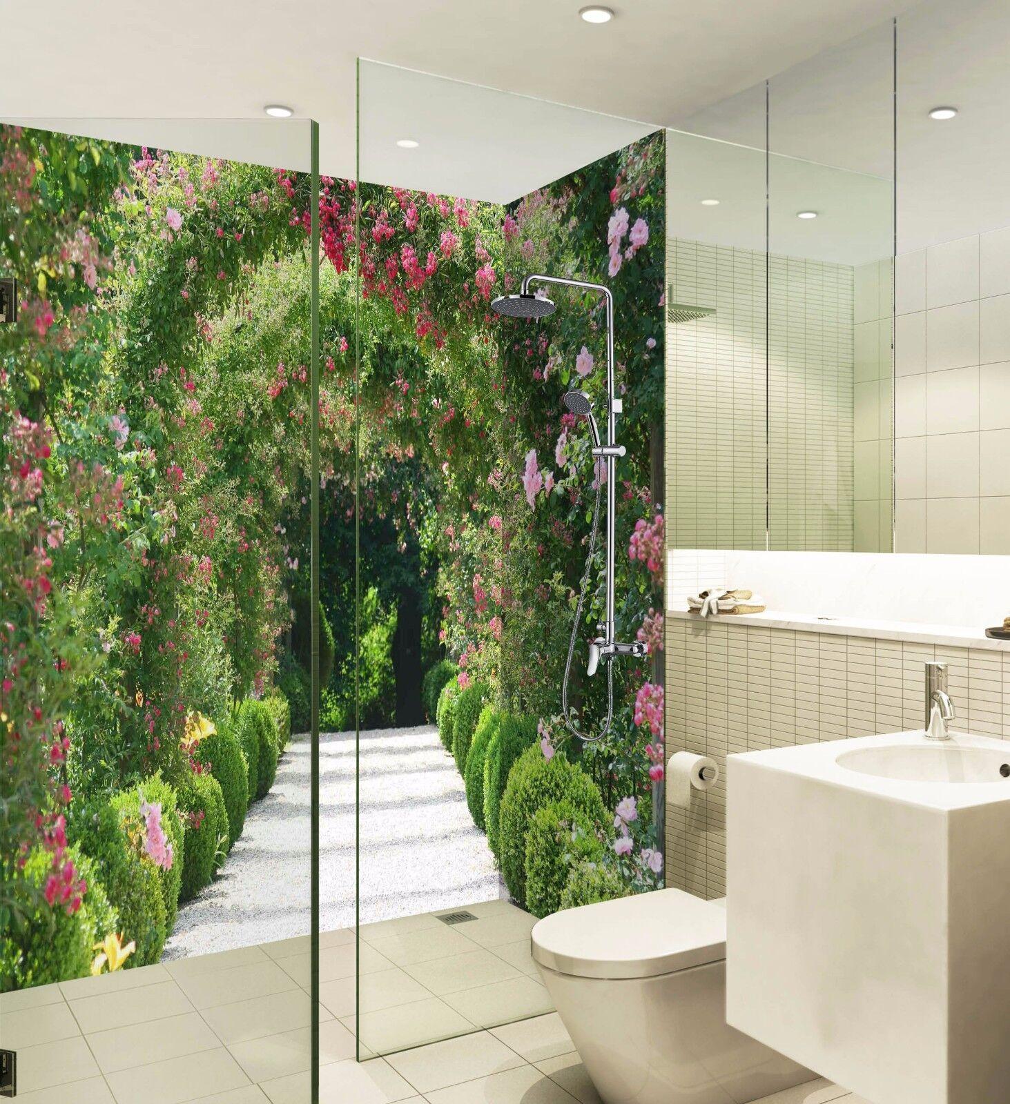 3D Vines Arch WallPaper Bathroom Print Decal Wall Deco AJ WALLPAPER UK