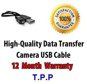 Finepix-JV500-Camara-USB-cable-de-plomo-Fuji-Fujifilm-FinePix-cargo-de-transferencia-de-datos