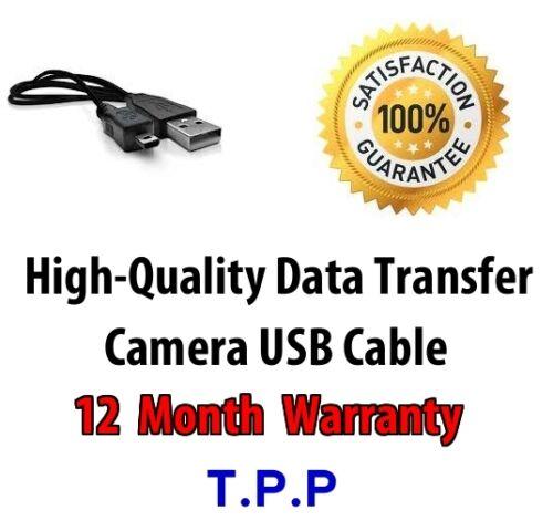 Finepix JV500 USB Camera Lead Cable Fuji Fujifilm FinePix Data Transfer Charge
