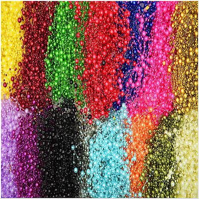 20x 1.3m Pearl Garland String Acrylic Beads Plastic Garlands Wedding Table Decor