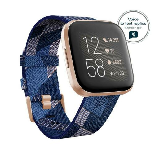 Fitbit Versa 2 Special Edition Alexa Built-in Health/&Fitness SmartwatchFB507RGNV