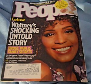 Details about People Magazine July 23 2018 Whitney Houston Murder in House  Of Gucci