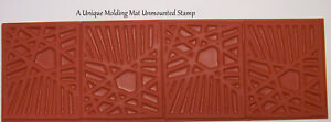 Bold-Graphic-Line-Design-Molding-Mat-Texture-Rubber-Stamp-Paper-amp-Polymer-Clay