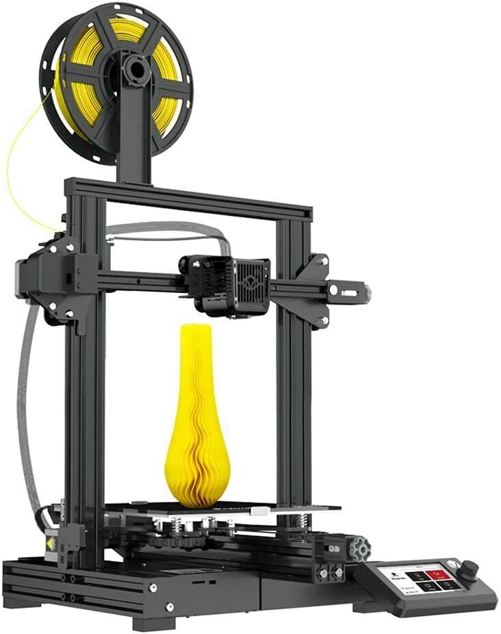 Voxelab Aquila 3D Printers Removable Carborundum Glass Platform Resume Printing