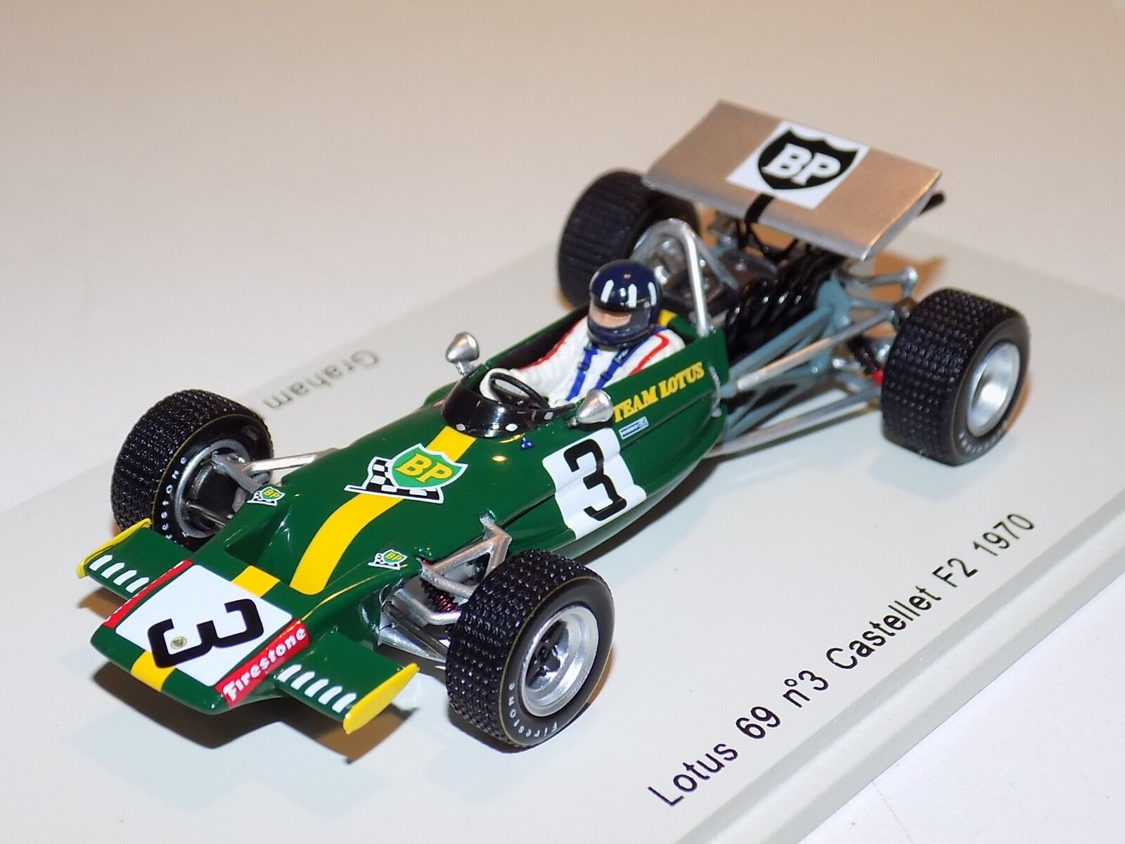 1 43 Spark Lotus 69 F2 car Castellet    F2 1970 Graham Hill S2146 0f0719