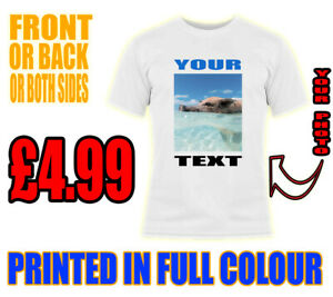 Personalizado-Unisex-Adulto-Stag-gallina-ninos-Custom-Printed-T-Shirt-tu-foto-de-texto