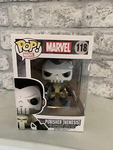 Punisher-Nemesis-Figure-118-Funko-POP-Vinyl-Marvel-Serie