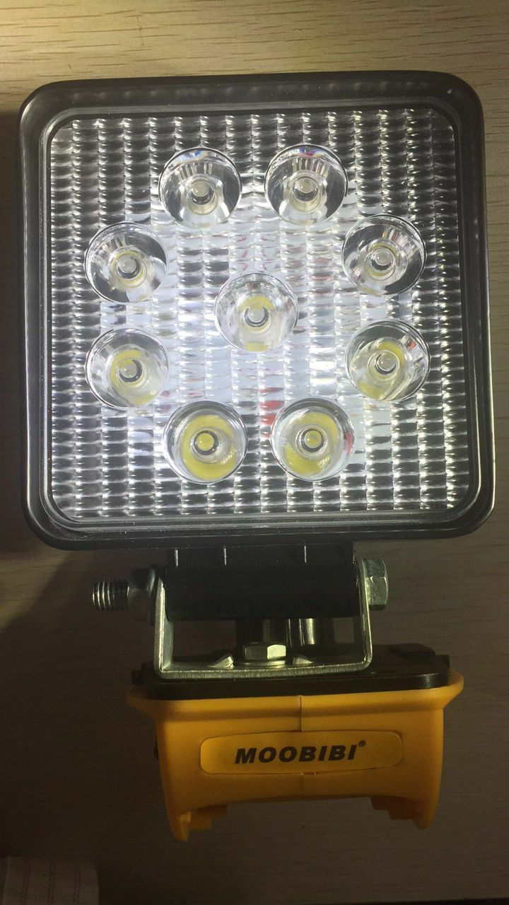 Für Dewalt Adapter & Work Light 18V   20V Max Compact Taschenlampe Flutlicht