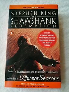 Stephen-King-The-Shawshank-Redemption-cassette-audiobook-3-tapes-4-5-hours-unabr