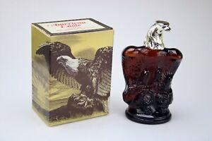 Vintage-Avon-Glass-034-American-Eagle-034-Empty-Windjammer-Decanter-IOB-Ships-Free
