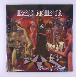 "2 x 12 "" LP Iron Maiden Dance Of Death Remastered 2015 180g Limited-Editi -"