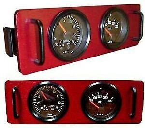 Pantera DeTomaso, Porsche 944. Deluxe aluminum gauge panel