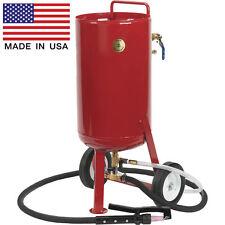 Soda & Abrasive Blaster - 8.2 Gallon Cap - Commercial - 15 CFM - Accessories