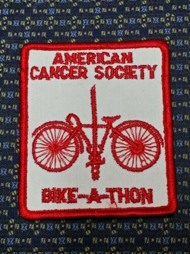 AMERICAN CANCER SOCIETY BIKE-A-THON Iron or Sew-On Patch