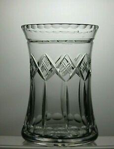 LOVELY-LEAD-CRYSTAL-CUT-GLASS-VASE-6-1-4-034-16-CM-TALL