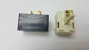 Kenmore-Frigidaire-Refrigerator-Compressor-Relay-Start-and-Overload-and-capacito