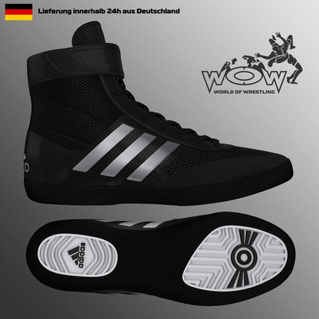 Combat Speed 5 Weiß ADIDAS Ringerschuhe Ringen Schuhe Wrestling Shoes