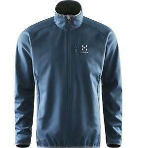 Details zu Haglöfs Mistral Jacket Men, Windstopper Softshell für Herren, blue ink, Gr. S
