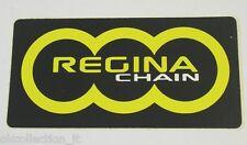 VECCHIO ADESIVO CICLISMO MOTO / Old Sticker REGINA DI ROMAGNA CHAIN (cm 11x6)