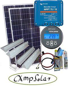 200 watt mppt solaranlage wohnmobil victron 75 15 mit mppt. Black Bedroom Furniture Sets. Home Design Ideas