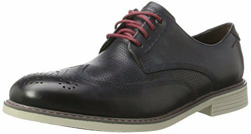 Rockport Men's Classic Break Wing Tip Derby shoes. Size 10.