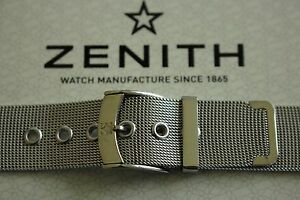 NOS-18MM-FINEST-MILANESE-MESH-S-S-WATCH-BAND-WATCHBAND-BRACELET-STRAP-FOR-ZENITH
