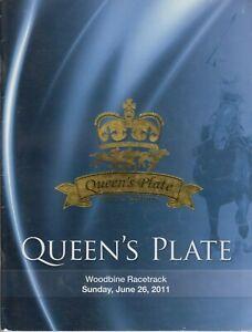 Queen-039-s-Plate-Official-Program-2011-152nd-Running-Horse-Racing