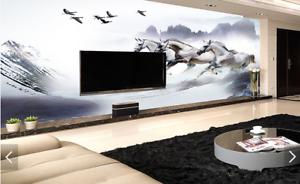 3D Horses Paint 558 Wallpaper Murals Wall Print Wallpaper Mural AJ WALL AU Kyra