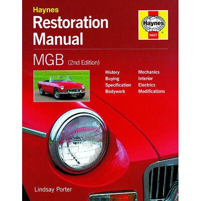 MGB Restoration Manual by Haynes - 2nd Edition