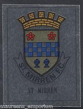 Panini Football 1990 Sticker - No 457 - St Mirren Foil Badge