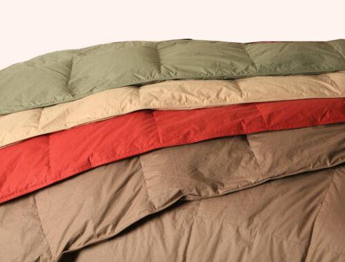 Coloured 233TC Down Duvet in 4 Sizes