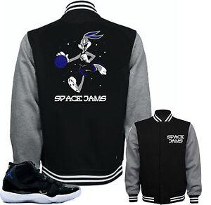 65cf7e68465 Jacket to match Air Jordan Retro 11 Space Jam sneakers