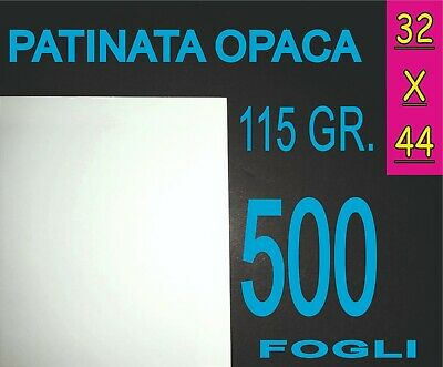 Cerca Voli 500 Fogli 115g A3+ Carta Patinata Opaca Stampanti Laser Locandine A3 Plus 32x44