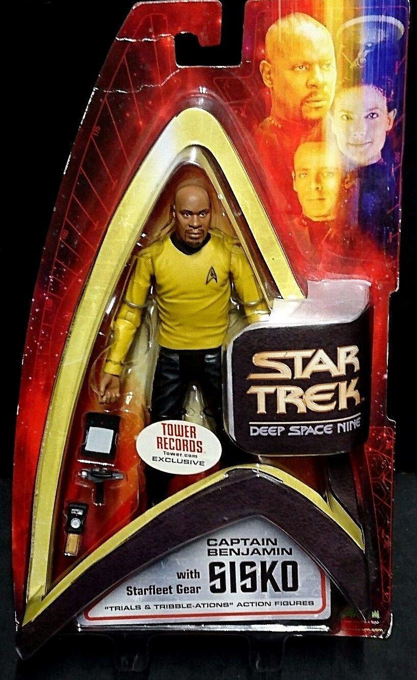 Star Trek Deep Space Nine CAPTAIN BENJAMIN SISKO Avery Brooks Art Asylum DS9 New
