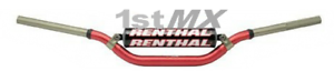 Renthal Twinwall Handlebar Motocross MX Bars FREE Barpad Kawasaki KX KXF 997 Red
