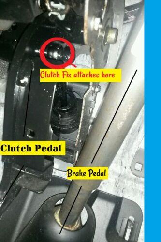 Mazda 2 Ford FUSION FIESTA mk6 Embrayage Réparation Fix Pédale Broche Clip collier clic
